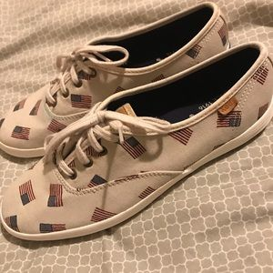 Keds Shoes - Keds American Flag Sneakers ❤️🇺🇸💙